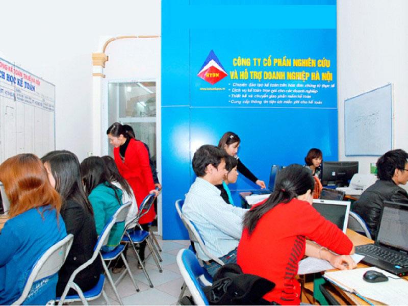 Lớp học kế toán thực hành tại Tp Rạch Giá – Kiên Giang