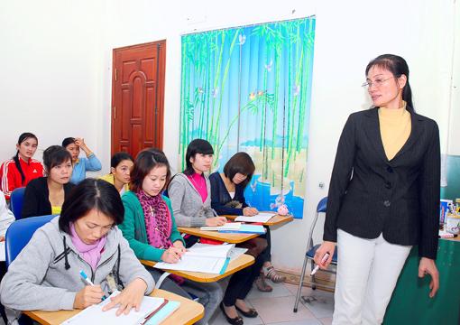 Lớp học kế toán thực hành tại Hà Nam