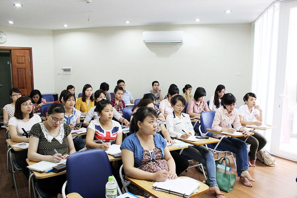 Lớp học kế toán thực hành tại Bắc Ninh