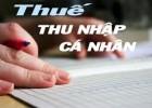 Những cá nhân không phải quyết toán thuế TNCN năm 2015