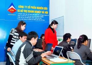 Lớp học kế toán thực hành tại Hà Đông