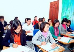 Lớp học kế toán thực hành tại Thanh Hóa
