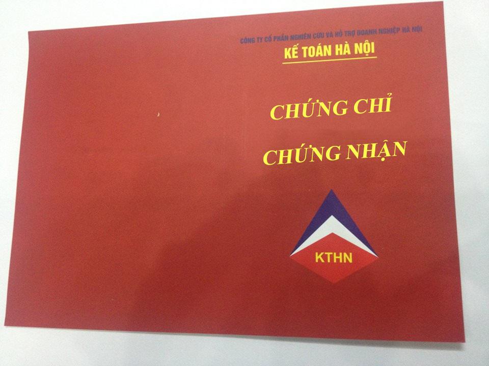 chung chi ke toan