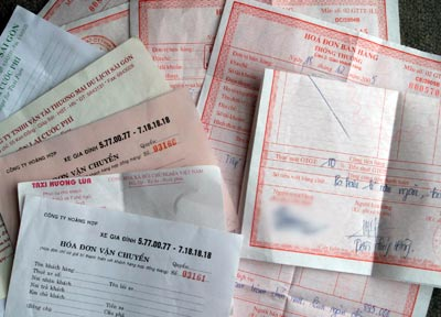Khách mua hàng không lấy hóa đơn GTGT – cách viết hóa đơn